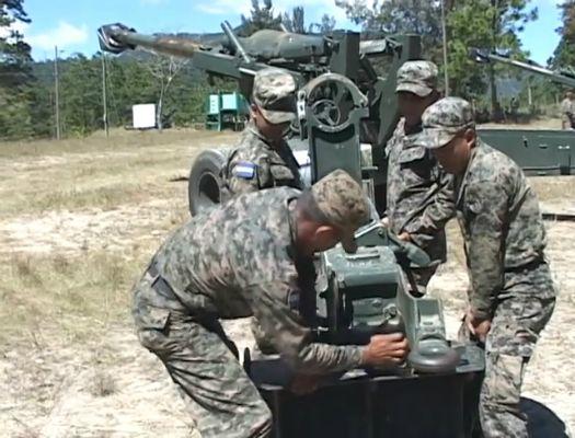 formacion de artillero