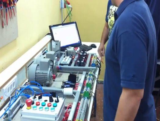 formacion de automatismo con control programable