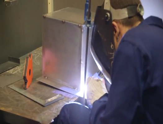 formacion de calderero industrial