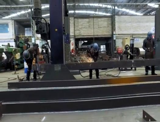 formacion de constructor soldador de estructuras metalicas de acero