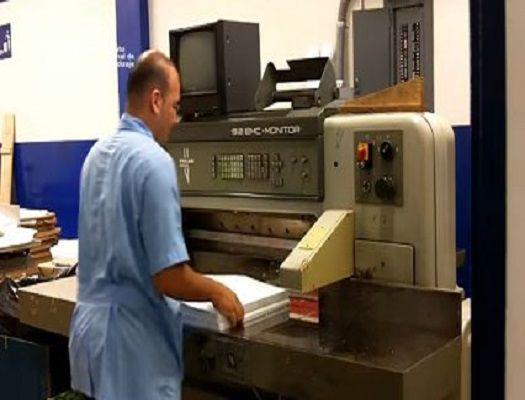 formacion de impresor de offset en hoja