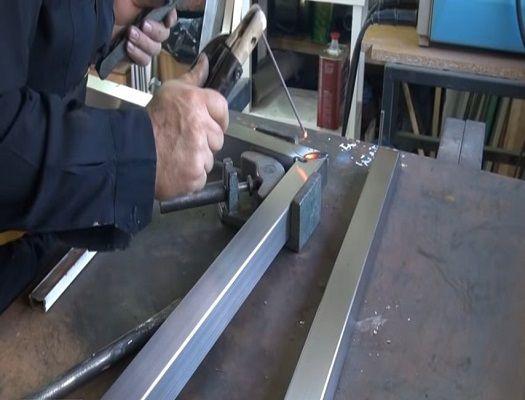 formacion de soldador de acero inoxidable por los procedimientos de mig y tig