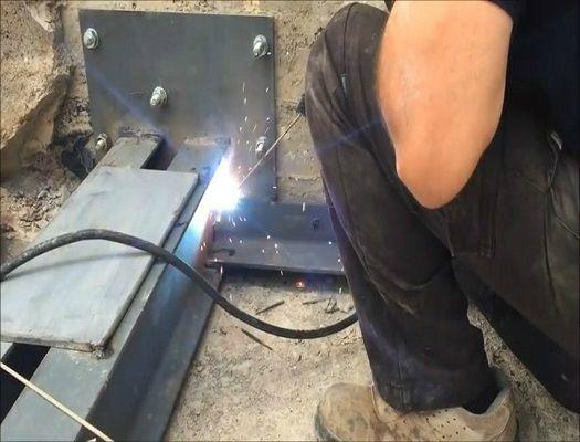 formacion de soldador de estructuras metalicas ligeras