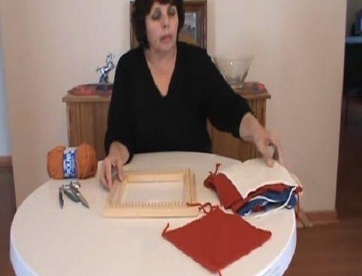 formacion de tejedor de telar manual